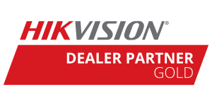 Hikvision CCTV Systems Gold Partner